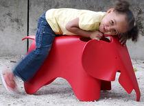 Moderner Hocker / Kunststoff / für Kinder (Jungen und Mächen) / Außenbereich