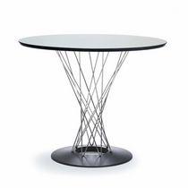 Moderner Esstisch / aus Gusseisen / rund / von Isamu Noguchi