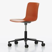 Moderner Bürostuhl / drehbar / mit Rollen / sternförmiger Fuß