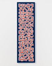 Stoff-Dekorplatte / wandmontiert / bedruckt