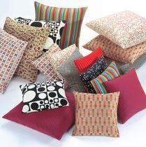 Kissen für Sofas / quadratisch / Motiv / Stoffbezug