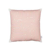 Kissen für Sofas / quadratisch / Motiv / Baumwolle