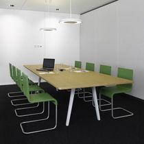 Moderner Besprechungstisch / Holz / rechteckig / von Ronan & Erwan Bouroullec