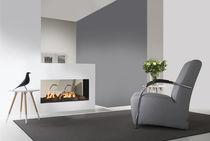 Gaskamin / modern / Geschlossene Feuerstelle / 2-seitig