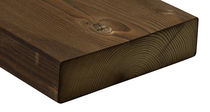 Massivholzträger / Rechteck / für Böden