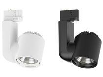 LED-Schienenleuchte / rund / aus Aluminium / Gewerbe