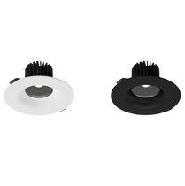 Einbaudownlight / LED / rund / aus PC