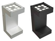 Moderne Wandleuchte / aus Aluminium / LED / quadratisch