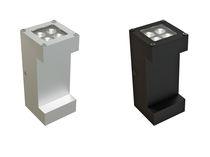 Moderne Wandleuchte / für Außenbereich / aus Aluminium / LED