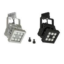 LED-Schienenleuchte / quadratisch / Metall / für professionellen Gebrauch