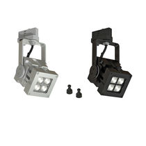 LED-Schienenleuchte / quadratisch / Metall / Gewerbe