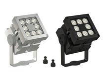 Moderne Wandleuchte / für Außenbereich / Metall / LED