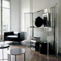 Moderner Konsolentisch / Glas / rund / von Antonio Citterio