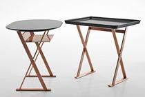 Moderner Beistelltisch / Kupfer / rechteckig / von Antonio Citterio