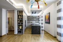 Moderne Küche / Laminat