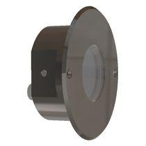 Moderne Wandleuchte / für Außenbereich / Edelstahl / LED