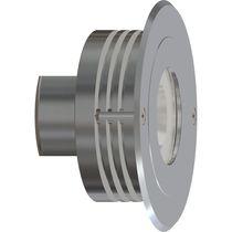 Moderne Wandleuchte / für Außenbereich / aus anodisiertem Aluminium / LED