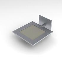 Moderne Wandleuchte / Aluminium / OLED / quadratisch
