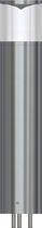 Garten-Leuchtpoller / modern / aus anodisiertem Aluminium / LED