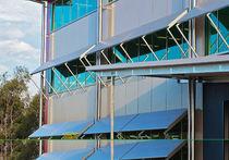 Aluminium-Sonnenschutzlamelle / für Fassade