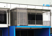 Spanplatte Sonnenschutzlamelle / für Fassade
