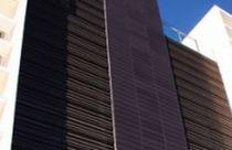 Aluminium-Lüftungsgitter / aus Stahl / Linear / für Fassade