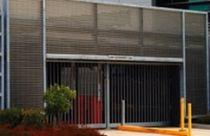 Aluminium-Lüftungsgitter / Linear / für Fassade