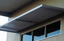 Vordach für Fenster und Türen / Aluminium