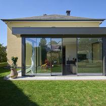 Glas-Wintergarten / Aluminium