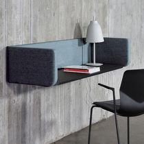 Schreibtisch Trennwand / für Theken / Stoff