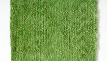 Moderner Teppich / aus Wolle / rechteckig / uni
