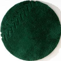 Moderner Teppich / aus Wolle / Rund / uni