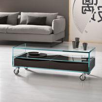 moderner couchtisch / milchglas / rechteckig / innenbereich ... - Glastisch Design Karim Rashid Tonelli