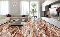 Innenraum-Fliesen / für Böden / aus Marmor / mit geometrischem Muster