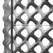 Metall-Dekorplatte / aus Marmor / für Innenausbau / für Trennwandsysteme