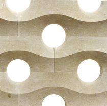 Festinstallierte Trennwand / aus Marmor / Büro / für Privatgebrauch