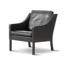 Moderner Sessel / Leder