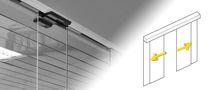 Schiebe-Eingangstür / Glas / automatisch / für öffentliche Einrichtungen