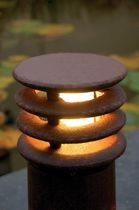 Klassischer Leuchtpoller / Stahl / LED