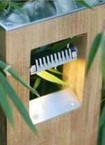 Garten-Leuchtpoller / modern / Metall / LED