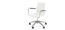 Moderner Bürostuhl / aus Polypropylen / Stahl / Dreh