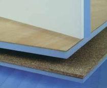 Holzfaserplatte für Bauanwendungen / für Möbel