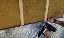 Thermische Dämmung / reflektierend / für Decke / zur Wanddickenmessung