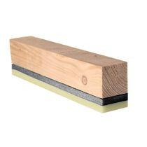 Isolierung zur Schalldämmung / aus Holzwolle / für Böden / zur Wanddickenmessung