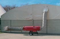 Tragbar Heißluftgenerator