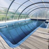 Erdverlegtes Schwimmbecken / Keramik / Rumpf / für Außenbereich