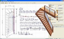 CAD-software 2D/3D für Treppen POWER STAIRS DDX Technologic Solutions Espagna
