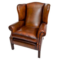 Leder Ohrensessel Bergère ALBURY Kingsgate Furniture ltd