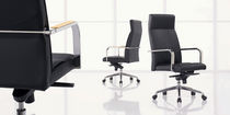 moderner Chefsessel aus Leder COPA  First Office