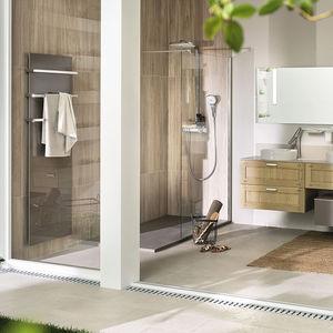 Modernes Badezimmer / Aus Gebleichter Eiche / Aus Corian®